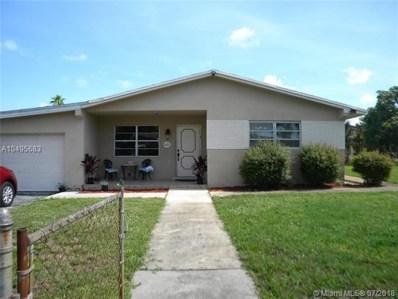 5021 SW 24th St, West Park, FL 33023 - MLS#: A10495683