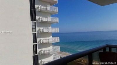 6039 Collins Ave UNIT 1401, Miami Beach, FL 33140 - MLS#: A10495988
