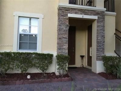 9163 SW 227th St UNIT 6, Cutler Bay, FL 33190 - MLS#: A10496102