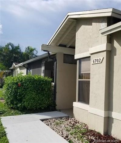 6702 SW 152nd Pl UNIT 28-02, Miami, FL 33193 - MLS#: A10496331