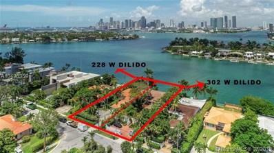 302 W Dilido Dr, Miami Beach, FL 33139 - MLS#: A10496359
