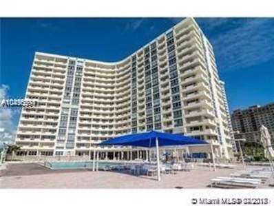 3180 S Ocean Dr UNIT 1021, Hallandale, FL 33009 - MLS#: A10496594