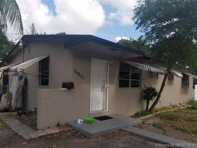 16851 NE 3rd Ave, North Miami Beach, FL 33162 - MLS#: A10497270