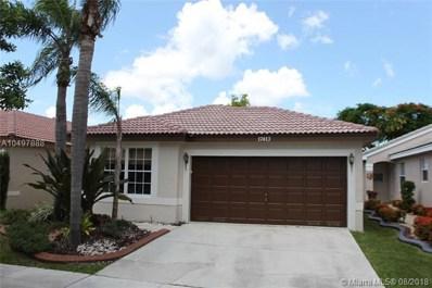 17413 SW 19th St, Miramar, FL 33029 - MLS#: A10497888