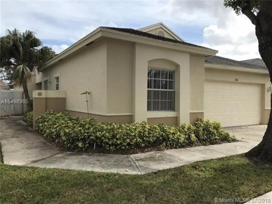 316 W Riverbend Dr, Sunrise, FL 33326 - MLS#: A10498365