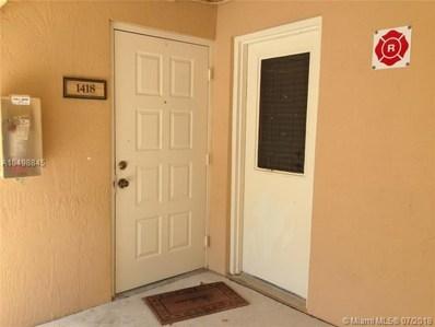 9701 Westview Dr UNIT 1418, Coral Springs, FL 33076 - MLS#: A10498845