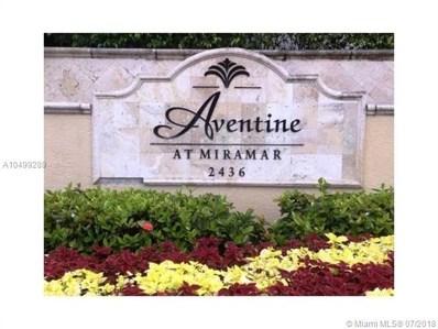 2451 Centergate Dr UNIT 302, Miramar, FL 33025 - MLS#: A10499289