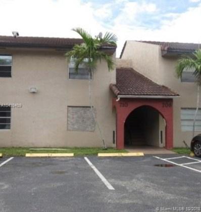 710 SW 81st Avenue UNIT 6A, North Lauderdale, FL 33068 - MLS#: A10499409