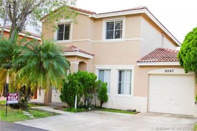 16543 SW 97th St, Miami, FL 33196 - MLS#: A10501551