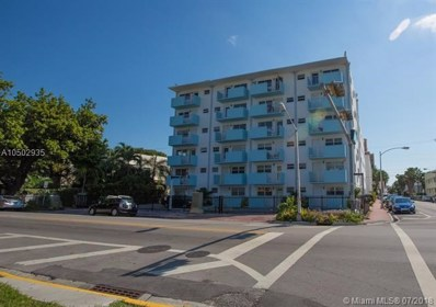801 Meridian Ave UNIT 1C, Miami Beach, FL 33139 - MLS#: A10502935