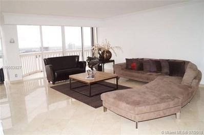 1000 W Island Blvd UNIT 2702, Aventura, FL 33160 - MLS#: A10503827