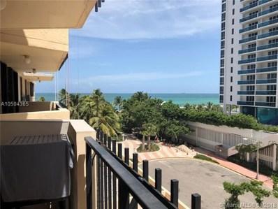 2401 Collins Ave UNIT 605, Miami Beach, FL 33140 - MLS#: A10504365
