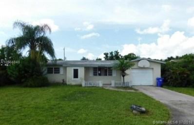 6520 SW 10th St, Pembroke Pines, FL 33023 - MLS#: A10504848
