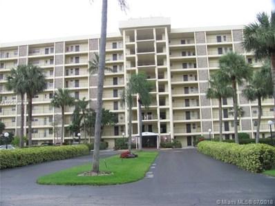 3150 N Palm Aire Dr UNIT 809, Pompano Beach, FL 33069 - MLS#: A10505388