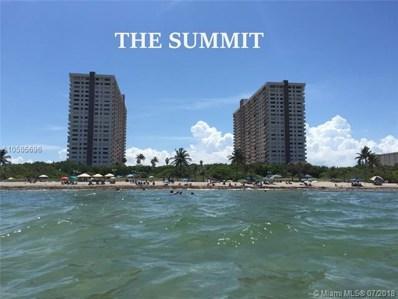 1201 S Ocean Dr UNIT 405N, Hollywood, FL 33019 - MLS#: A10505696