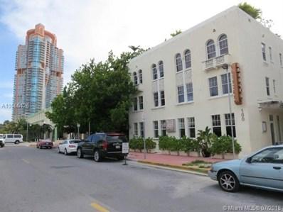 100 Collins Ave UNIT 300, Miami Beach, FL 33139 - MLS#: A10506126