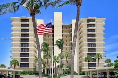 100 Beach Rd UNIT 703, Tequesta, FL 33469 - MLS#: A10506277