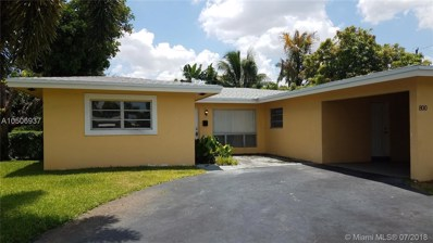 800 NW 29th Ct, Wilton Manors, FL 33311 - MLS#: A10506937