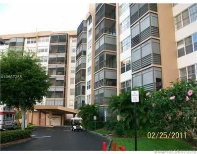 1100 Saint Charles Pl UNIT 522, Pembroke Pines, FL 33026 - MLS#: A10507265