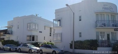 320 80th St UNIT 15, Miami Beach, FL 33141 - MLS#: A10507914