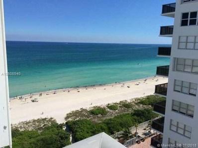 6039 Collins Ave UNIT 1504, Miami Beach, FL 33140 - MLS#: A10508540