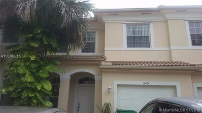 8424 SW 29th St UNIT 104, Miramar, FL 33025 - MLS#: A10508816