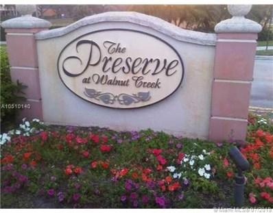 7775 NW 22nd St UNIT 105, Pembroke Pines, FL 33024 - MLS#: A10510140