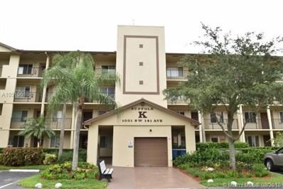 1001 SW 141st Ave UNIT 202K, Pembroke Pines, FL 33027 - MLS#: A10510619