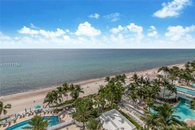3535 S Ocean Dr UNIT 1001, Hollywood, FL 33019 - MLS#: A10511194