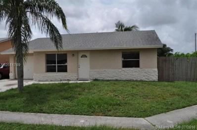 6165 E Wauconda Way E, Lake Worth, FL 33463 - MLS#: A10511769