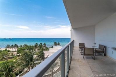 3101 S Ocean Dr UNIT 607, Hollywood, FL 33019 - MLS#: A10511859