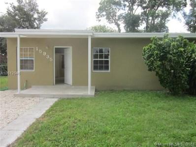 15935 E Bunche Park Dr, Miami Gardens, FL 33054 - MLS#: A10512046