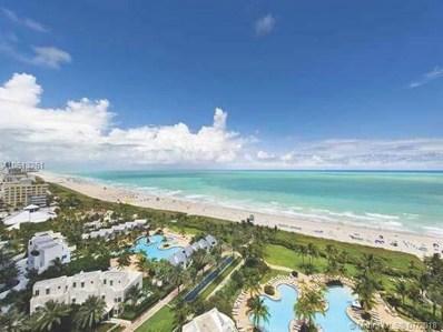 100 S Pointe Dr UNIT 1608, Miami Beach, FL 33139 - MLS#: A10513261