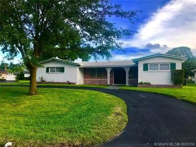 6500 SW 9th Street, Pembroke Pines, FL 33023 - MLS#: A10514189