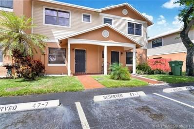 10455 NW 6th St UNIT 10455, Pembroke Pines, FL 33026 - MLS#: A10514221
