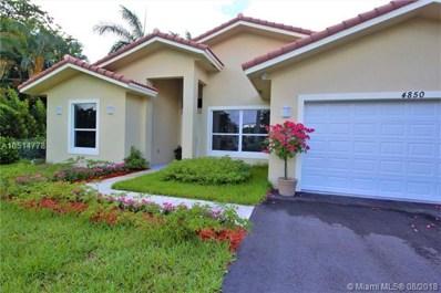 4850 SW 61st Ave, Davie, FL 33314 - MLS#: A10514778