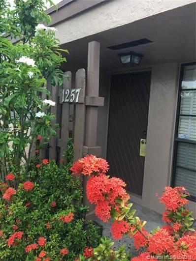 1257 NW 123rd Ter, Pembroke Pines, FL 33026 - MLS#: A10515775