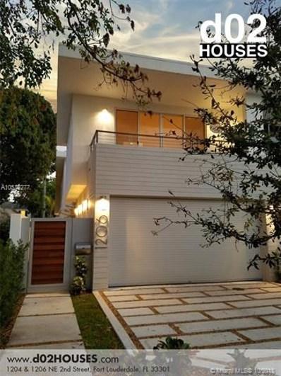 1206 NE 2nd Street, Fort Lauderdale, FL 33301 - MLS#: A10516277