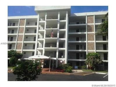2751 N Palm Aire Dr UNIT 409, Pompano Beach, FL 33069 - MLS#: A10516291