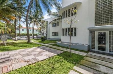551 Michigan Ave UNIT 111 W\/ >, Miami Beach, FL 33139 - MLS#: A10516333