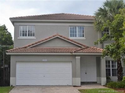 17015 NW 19th Ct, Pembroke Pines, FL 33028 - MLS#: A10516523