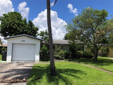 3349 NW 33 St, Lauderdale Lakes, FL 33309 - MLS#: A10517499