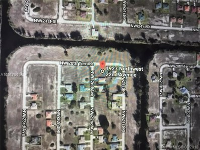 1927 NW 22 Av, Other City Value - Out Of Area, FL 33993 - MLS#: A10517516