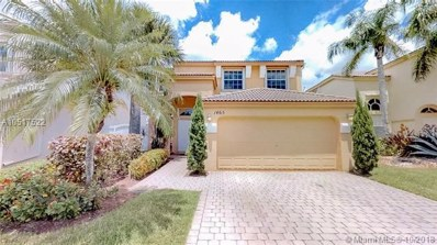 1465 NW 153 Ave, Pembroke Pines, FL 33028 - MLS#: A10517522