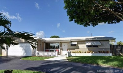 4011 Buchanan St, Hollywood, FL 33021 - MLS#: A10518893