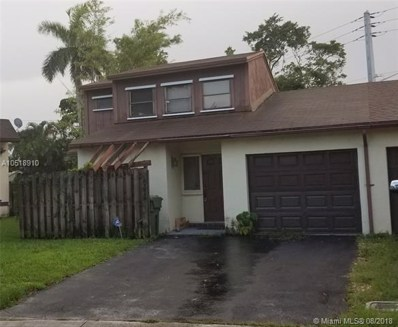 10032 SW 16th St, Pembroke Pines, FL 33025 - MLS#: A10518910