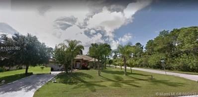 1088 SW Paar Dr, Port St. Lucie, FL 34953 - MLS#: A10520165