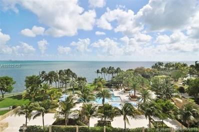 1 Grove Isle Dr UNIT A1706, Miami, FL 33133 - MLS#: A10522426