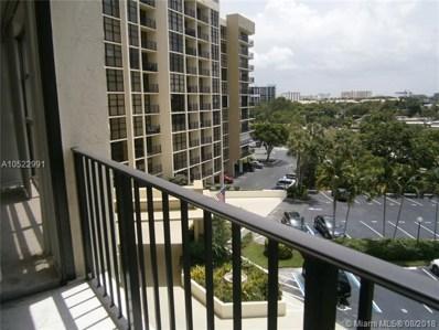 600 Parkview Dr UNIT 605, Hallandale, FL 33009 - MLS#: A10522991