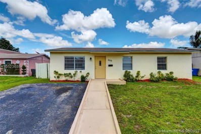 310 SW 77th Ter, North Lauderdale, FL 33068 - MLS#: A10523680